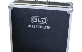 ALL BOX FLIGHT CASE PER ALLEN & HEATH GLD 80