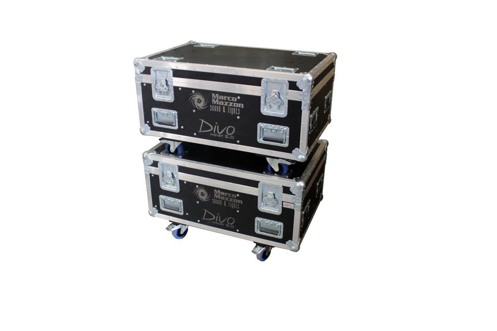 ALL BOX FLIGHT CASE PER DIVO 2T