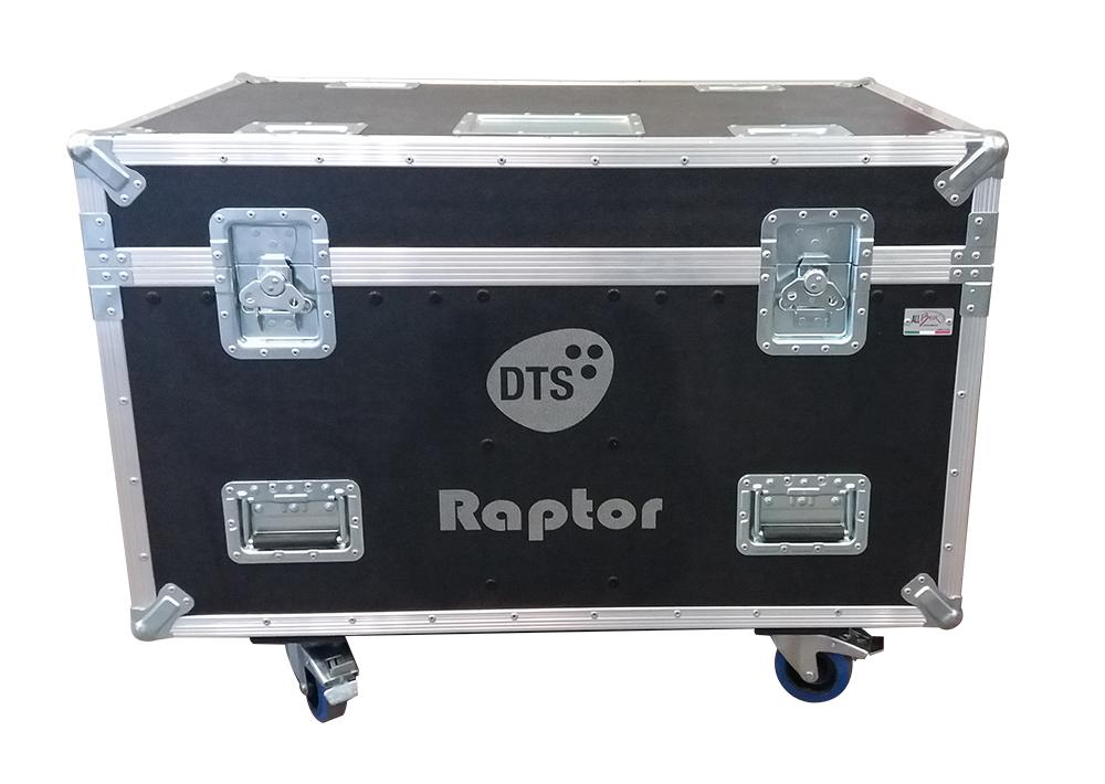 ALL BOX FLIGHT CASE PER DTS RAPTOR