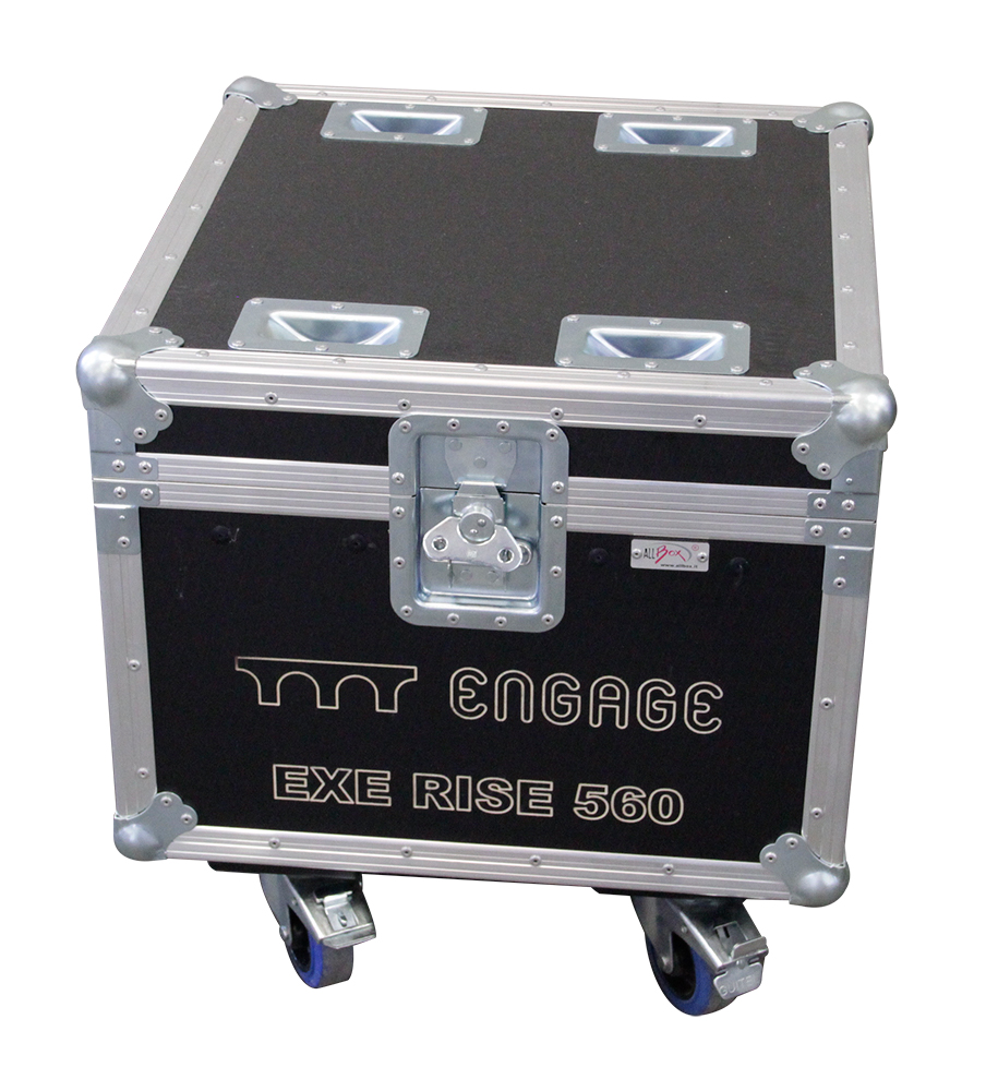 ALL BOX FLIGHT CASE PER EXE RISE 560