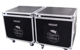 ALL BOX FLIGHT CASE PER FORNO INDUSTRIALE
