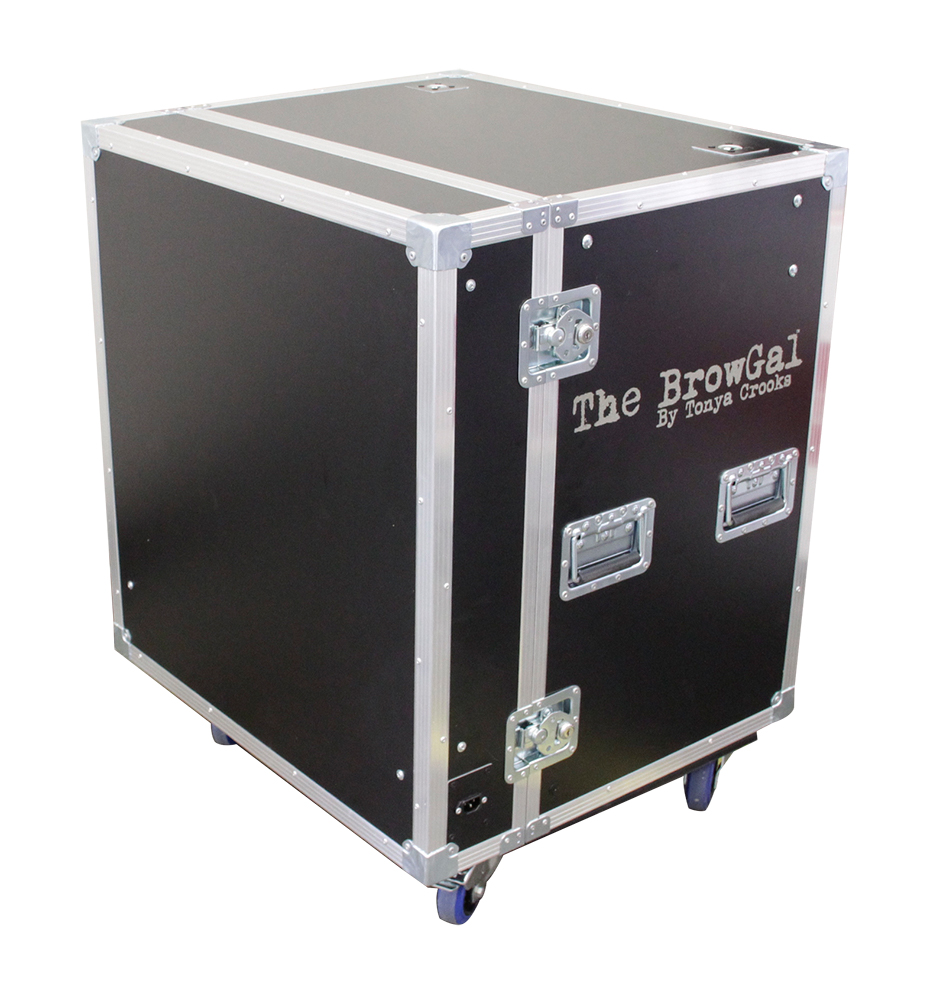 ALL BOX FLIGHT CASE PER MAKEUP BROWGALL