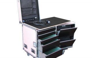 ALL BOX FLIGHT CASE MEDIUM WORKCASE PINK