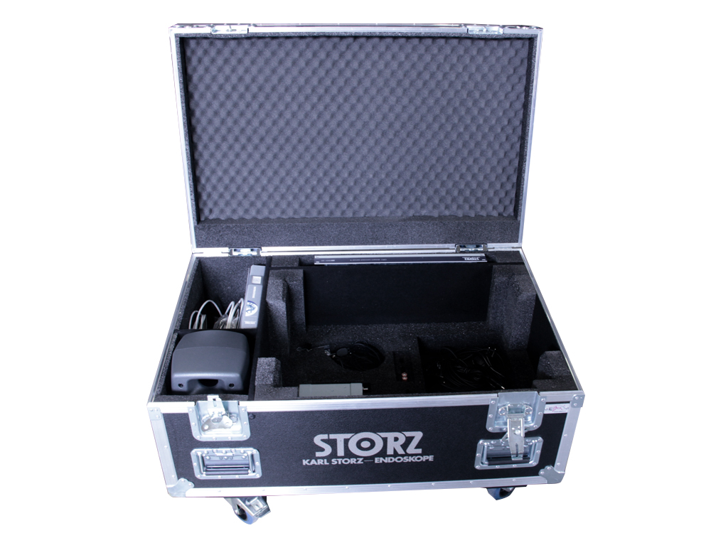 ALL BOX FLIGHT CASE PC STATION