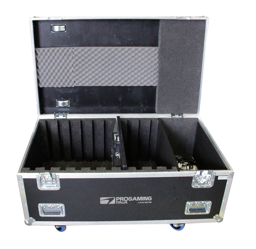 ALL BOX FLIGHT CASE PER TV LCD