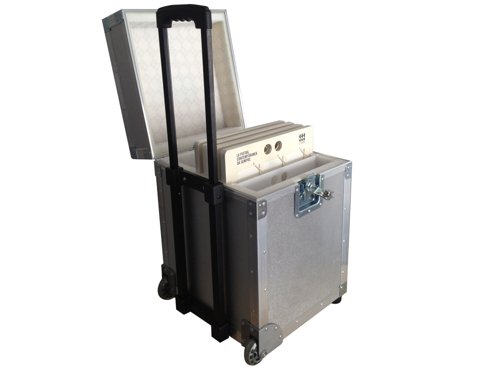 ALL BOX FLIGHT CASE PORTA MATTONELLE