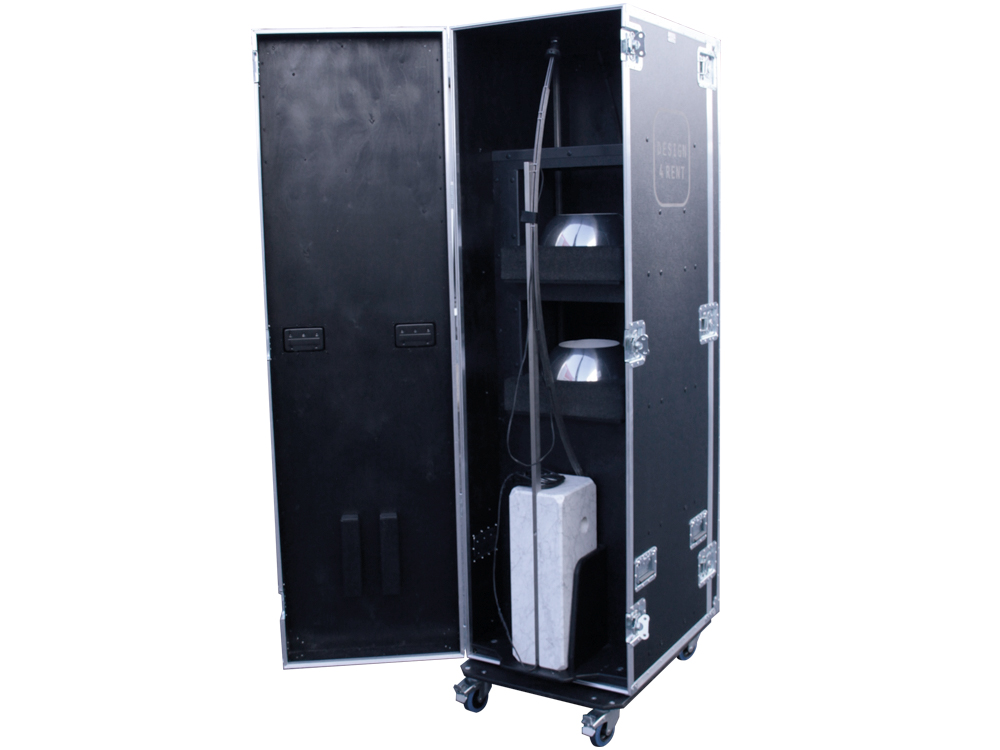 ALL BOX FLIGHT CASE LAMPADE