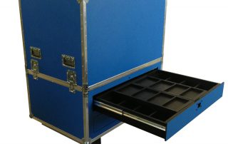 ALL BOX FLIGHT CASE WORKSTATION