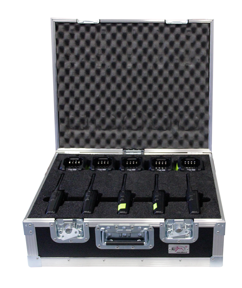 ALL BOX FLIGHT CASE WOKY TALKY