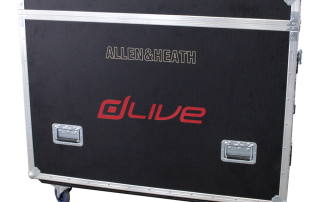 ALL BOX FLIGHT CASE ALLEN & HEATH D LIVE S5000