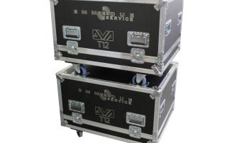 ALL BOX FLIGHT CASE PER D&B T12