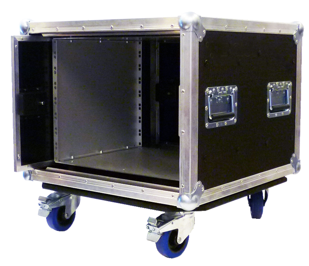ALL BOX FLIGHT CASE PER D&B TOURING RACK 3U