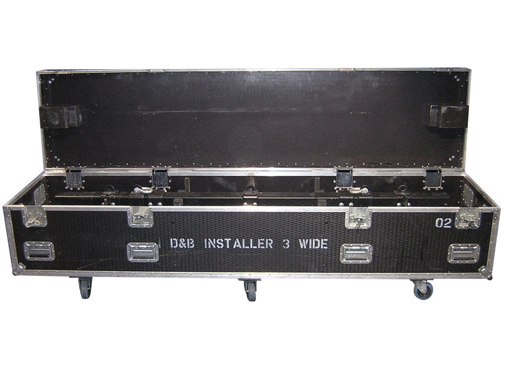 ALL BOX FLIGHT CASE PER D&B V8 - V12