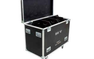 ALL BOX FLIGHT CASE MIC STANDS CABLES