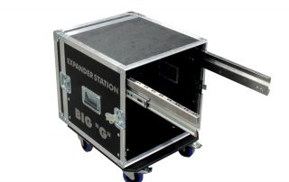 ALL BOX FLIGHT CASE RACK 10U