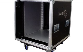 ALL BOX FLIGHT CASE TOURING RACK 12U