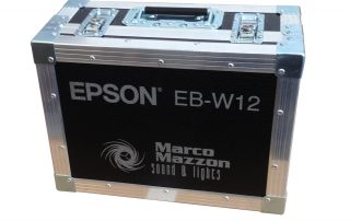 ALL BOX FLIGHT CASE PER PROIETTORE EPSON EBW12
