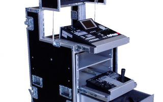 ALL BOX FLIGHT CASE VIDEO REGIA PANASONIC