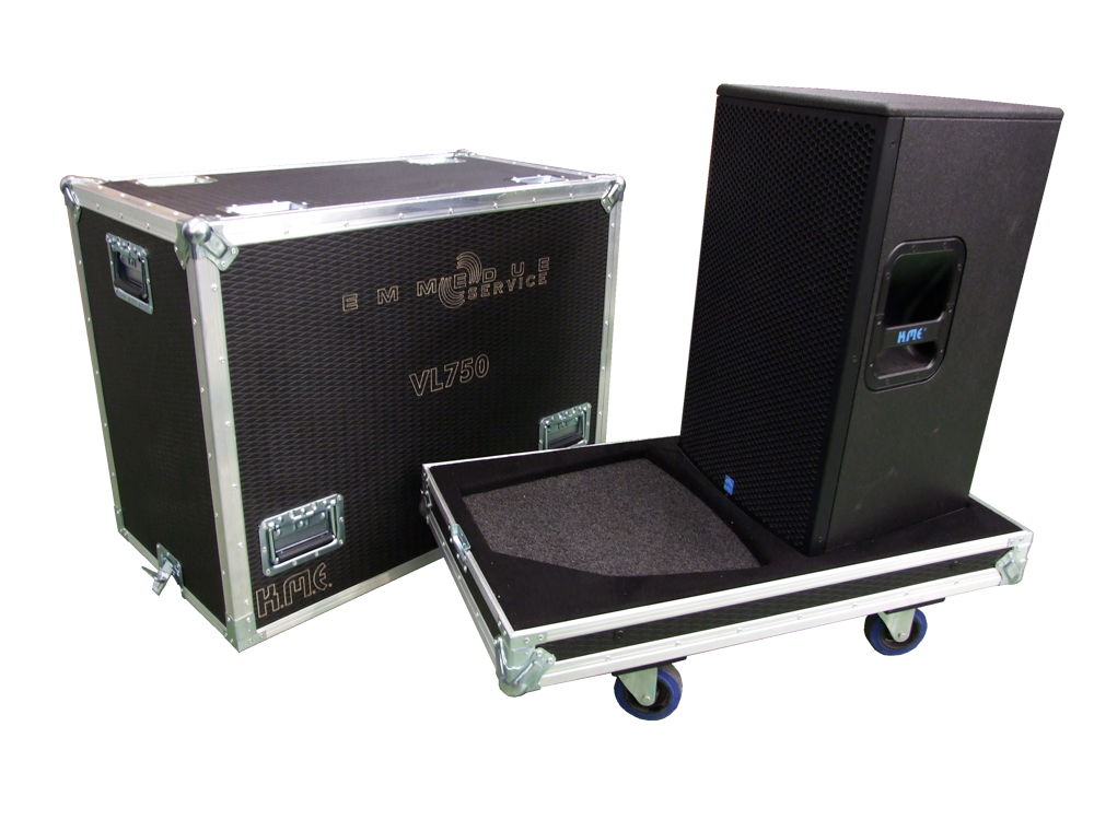 ALL BOX FLIGHT CASE PER KME 750